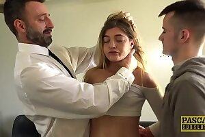 Super-naughty youthful lady Rhiannon Ryder gets her labia demolished