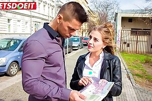 Molten Czech Teenager tricks Stud into taking her home (Silvia Dellai & Angelo Godshack)
