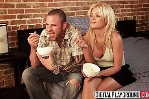 Red-hot blondie nubile (Riley Steele) is looking for enjoy but lodges for chisel - Digital Playground