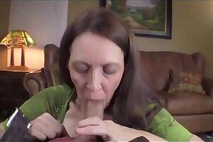MOMSEX50.COM: son fucks all holes of his gross mother