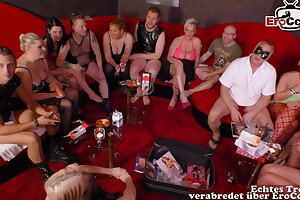 real german swinger soiree with young couple