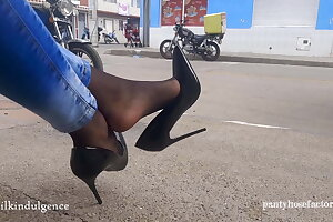 Stocking Feet in the Streets of Colombia